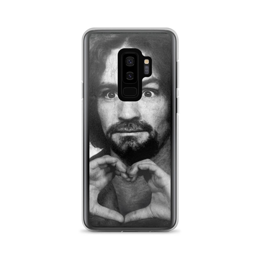 Charles Manson shows Love - Samsung case