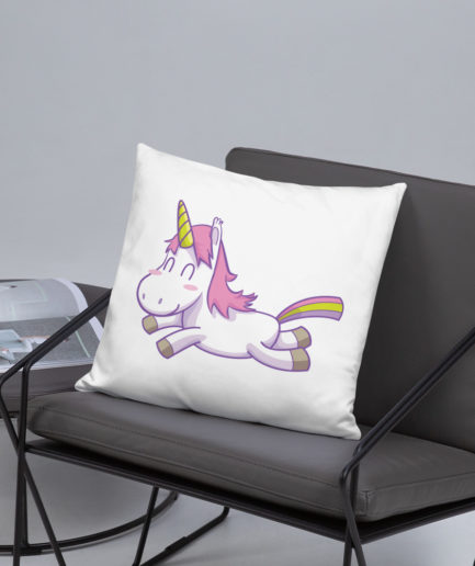 Slayer Unicorn Pillow -Back View