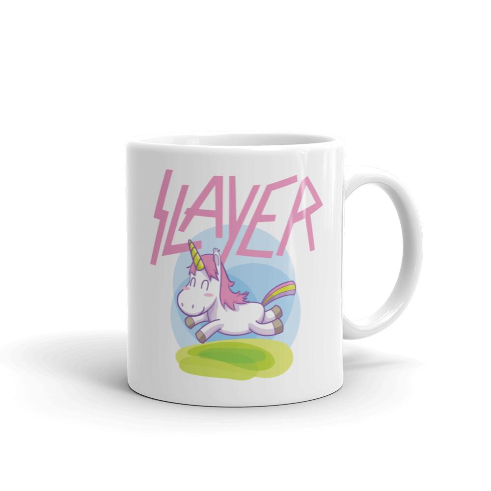 Slayer Pink Unicorn Mug. Frong Woot