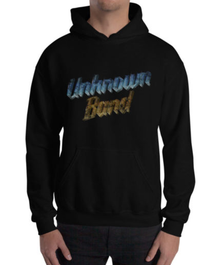 """Unknown Band"" Hoodie - Black"