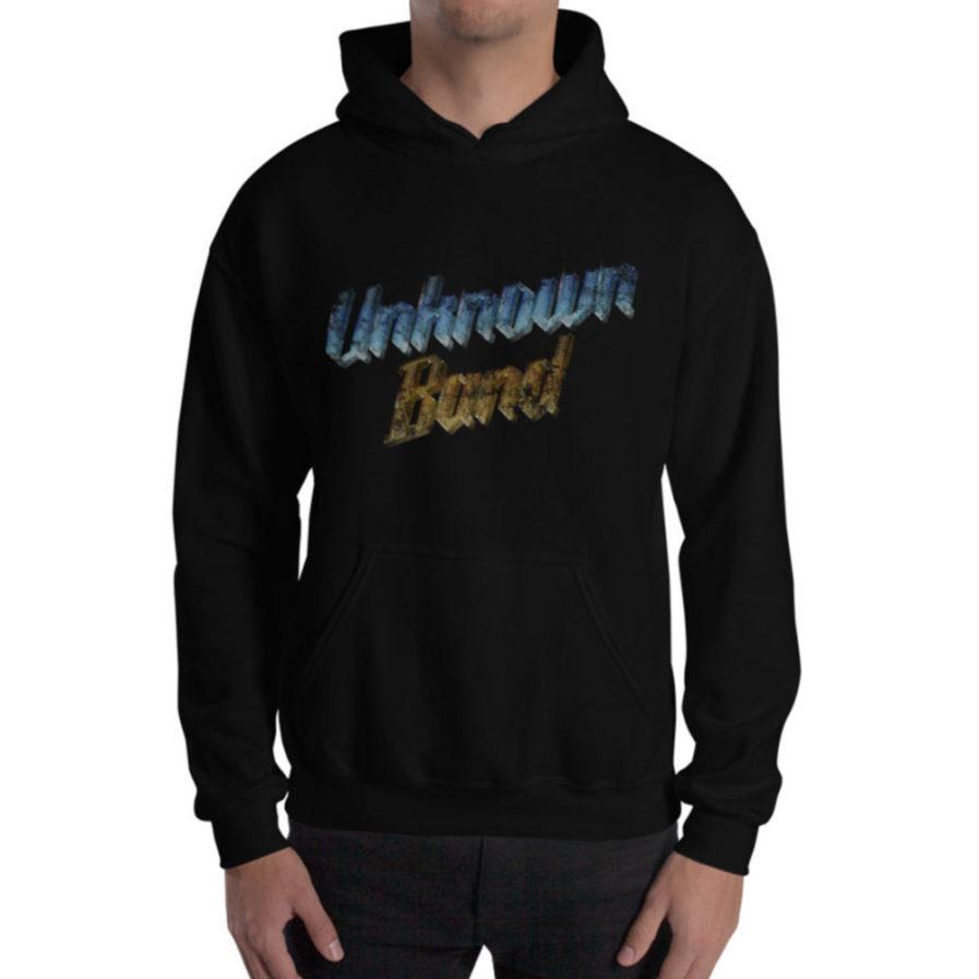 """""""Unknown Band"""" Hoodie - Black"""