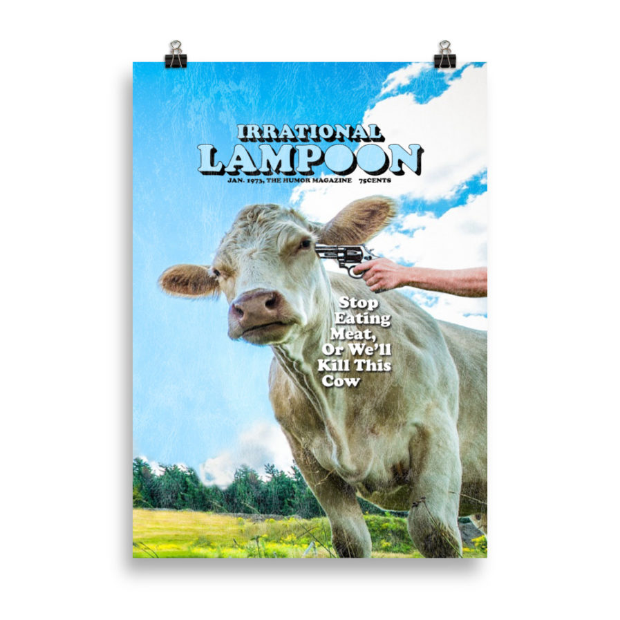 Irrational Lampoon Poster 50x70