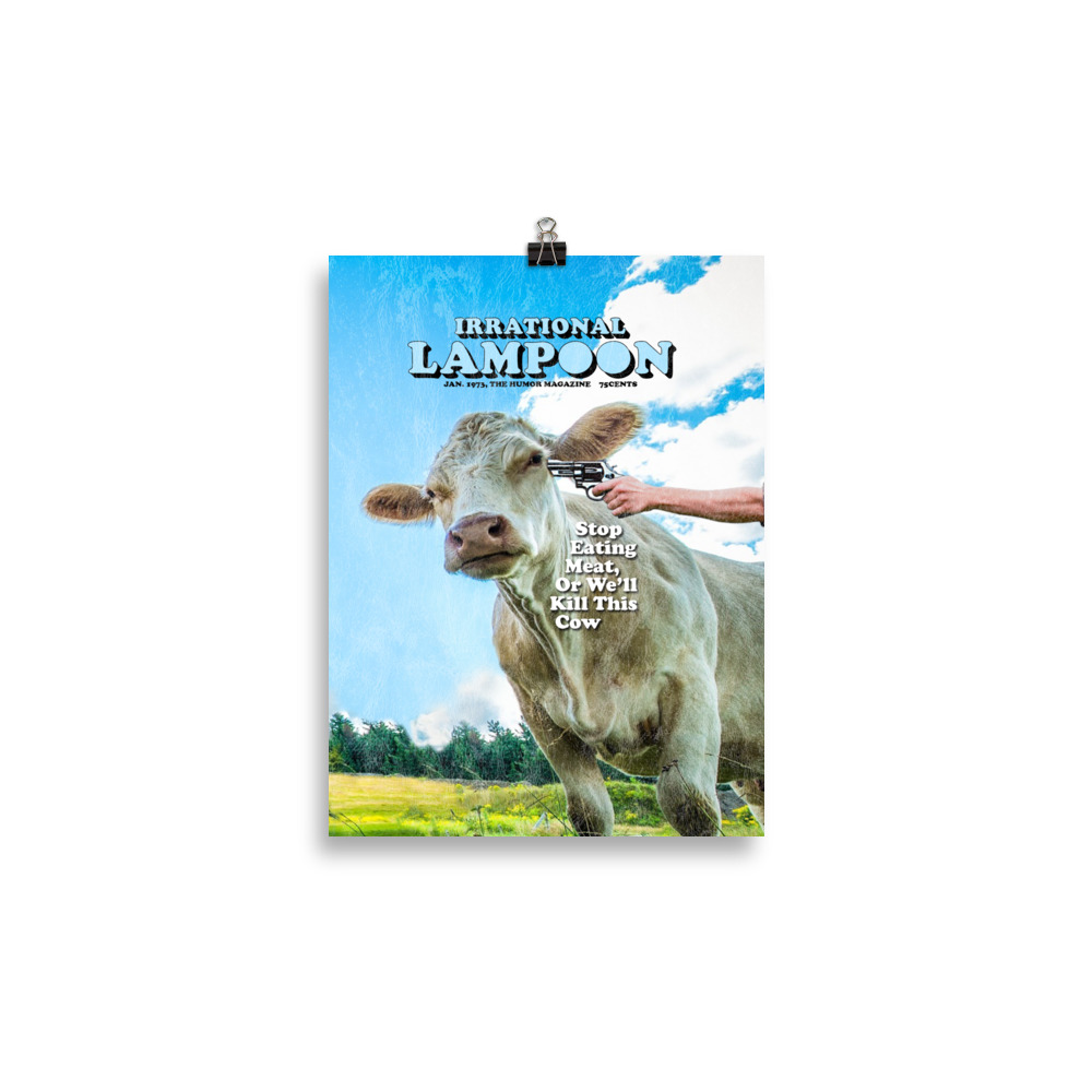Irrational Lampoon Poster 30x40