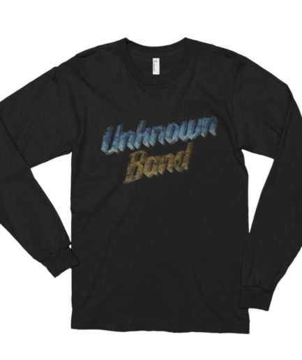 """Unknown Band"" Long Sleeve Shirt - Black"