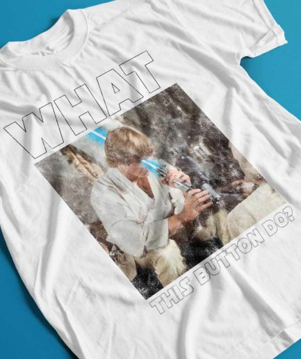 Jedi Luke Skywalker Lightsaber Fail T-shirt