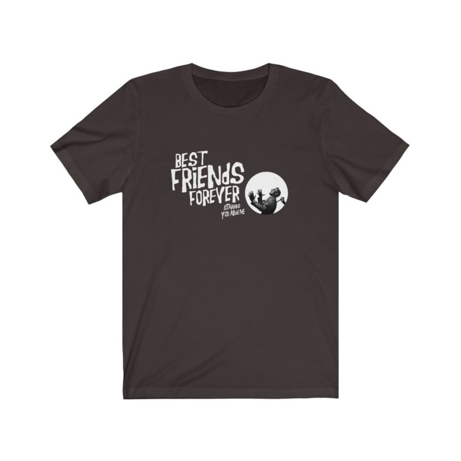 BFF T-shirt Brown