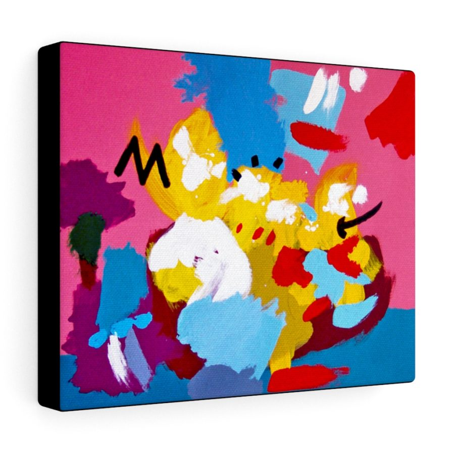 The Simpsons Couch Art Canvas