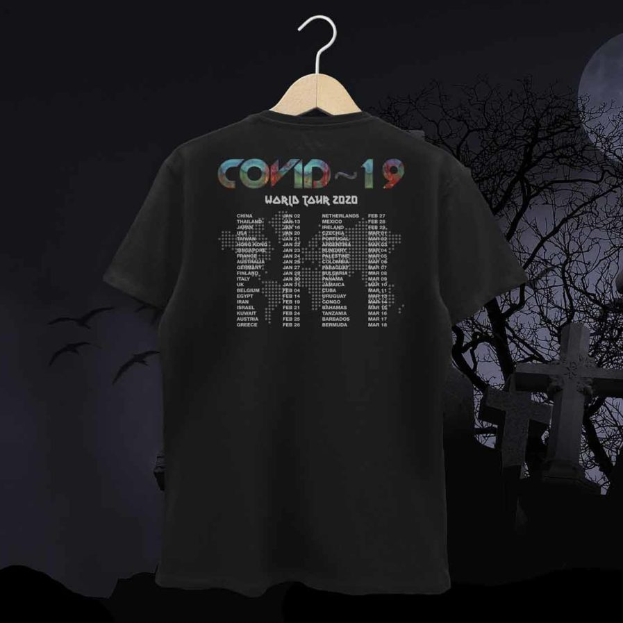 Covid-19 World Tour Tshirt