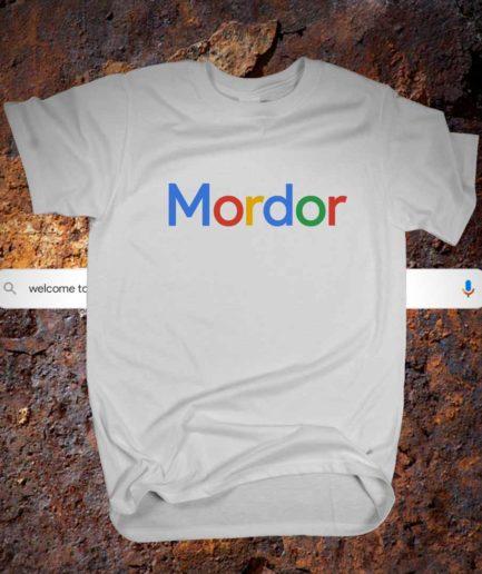 Mordor Google Tshirt