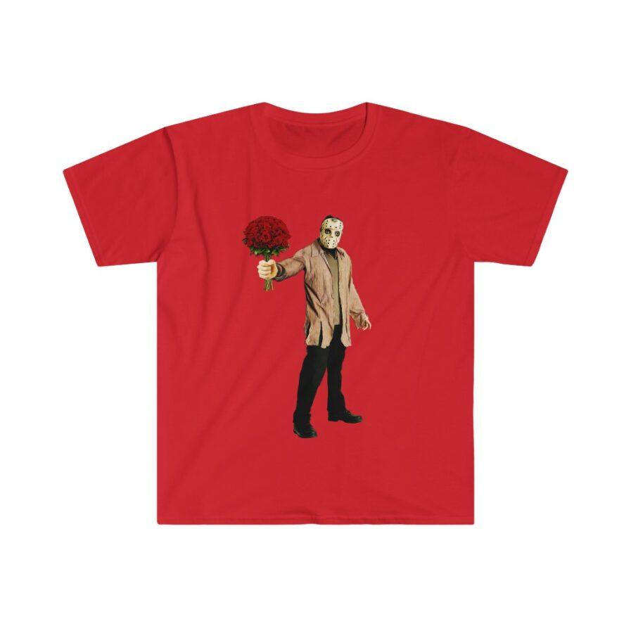 Jason Voorhees tshirt red