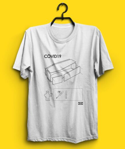 IKEA Coffin tshirt Covid-19