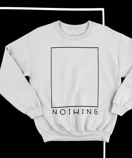 NOTHING minimalist Sweatshirt