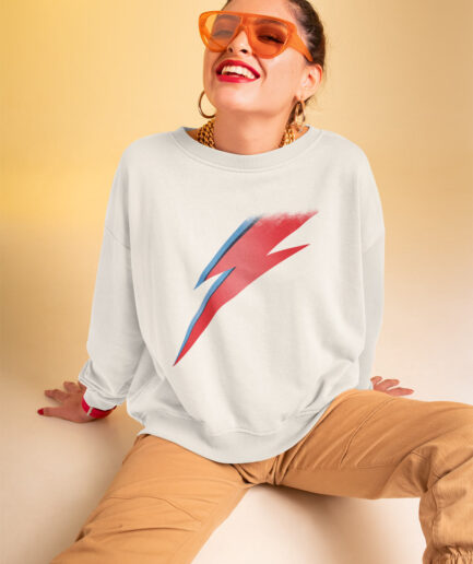 David Bowie Ziggy Stardust sweatshirt