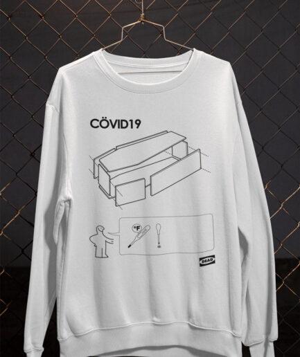 IKEA Covid-19 Coffin Sweatshirt