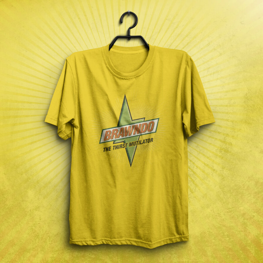 Brawndo Idiocracy Movie The Thirst Mutilator T-shirt