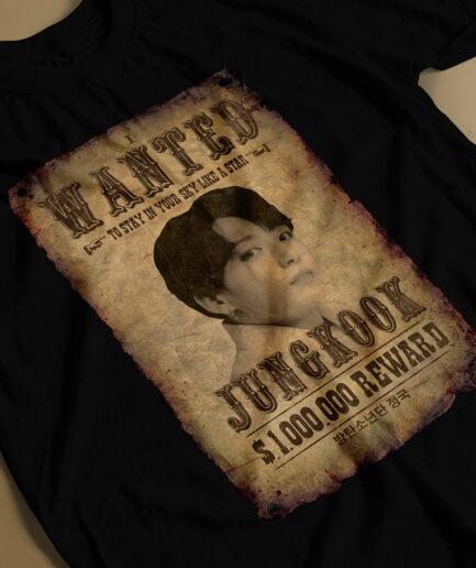 Bangtan Boys Jungkook Most Wanted T-shirt