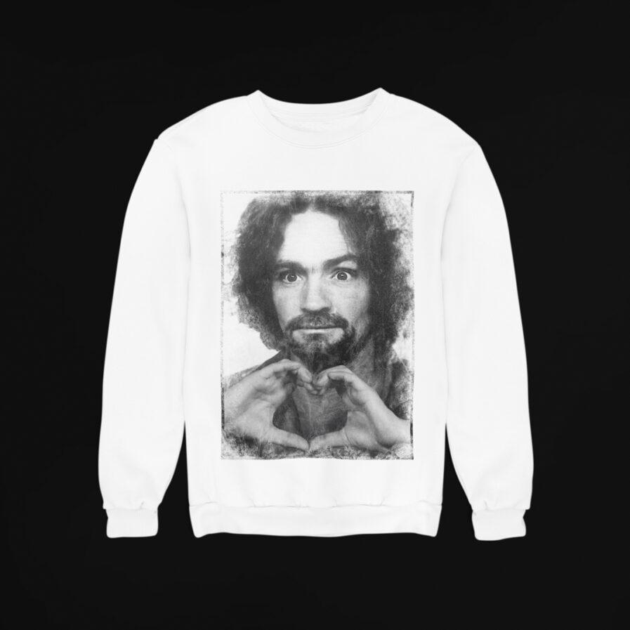 Charles Manson Love Sweatshirt
